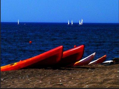Noleggio kayak sull' Isola delle Femmine per 1ora