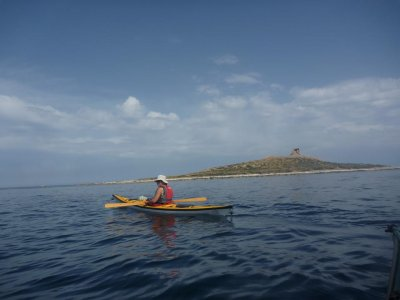 Noleggio kayak all'isola delle Femmine 1 ora e 30