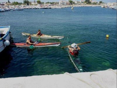 Noleggio kayak all'Isola delle Femmine 2 ore e 30
