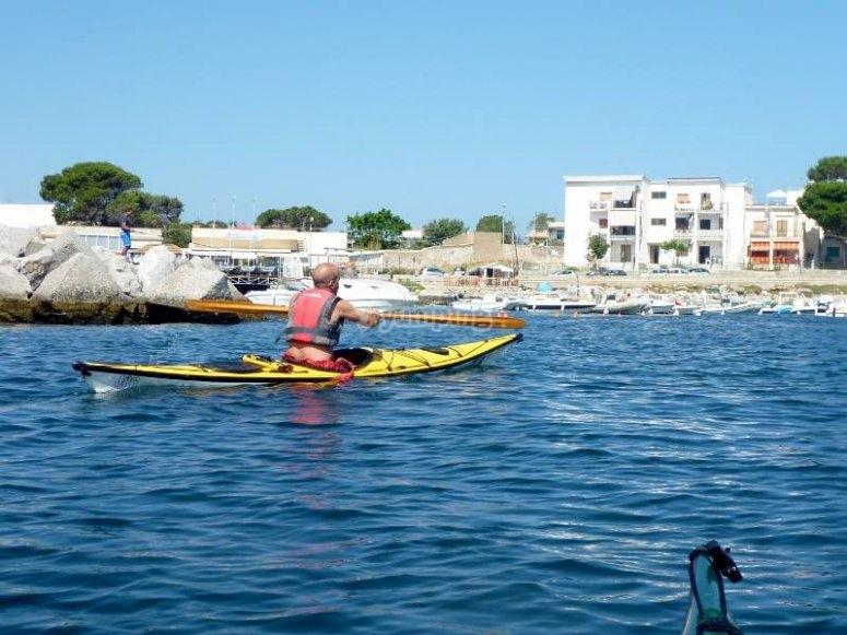 Divertimento sui kayak