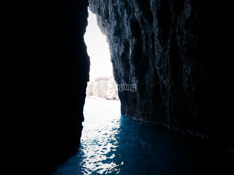 Grotta azzurra Taormina