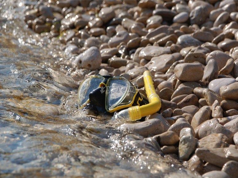 maschera da snorkeling