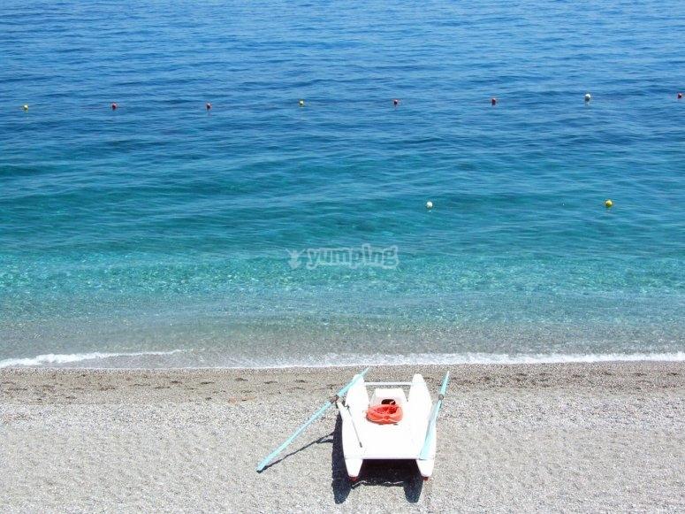 Il limpido mare della nostra zona