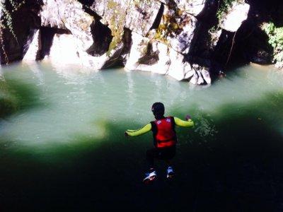 Canyoning di 3 ore nel Rio Selvano