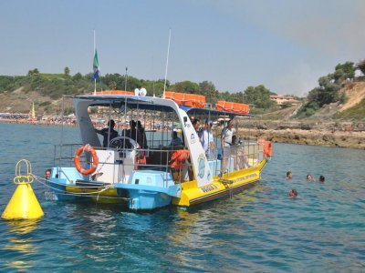 Half day by boat (adults), Le Castella