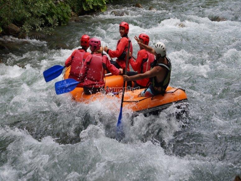 Giù per il fiume