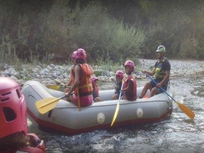 Rafting Family nel fiume Lao, 1,5 ore navigazione
