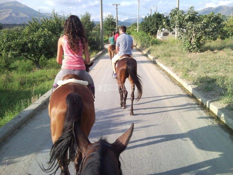 Tutti a cavallo!