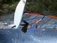 Emozioni sul windsurf
