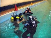preparazione in piscina