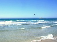 Spiaggia kiteboard