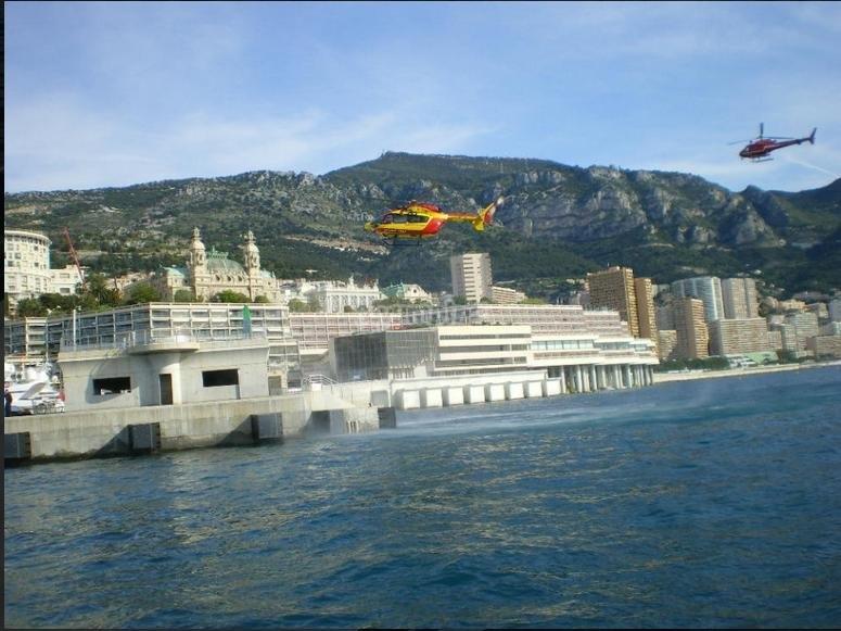 Arrivando a Monaco