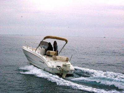 Idea Marine rental no license Liguria 7 days