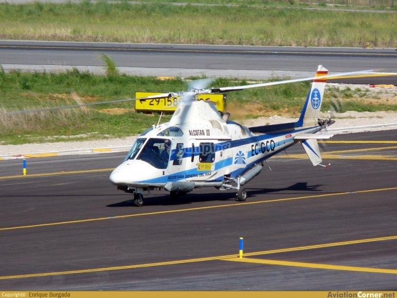 Un elicottero della nostra meravigliosa flotta
