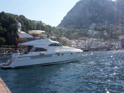 Noleggio giornaliero barca Liberty a Sorrento