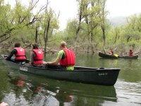 In canoa con La Betulla Quality Food & Trekking