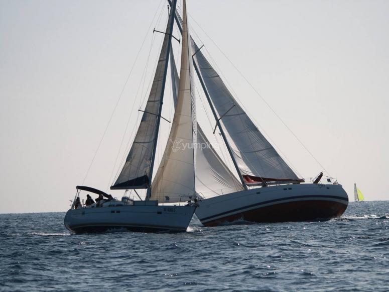 Due bellissime barche a vela