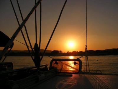 Escursione giornaliera in barca a Loano, Agosto.