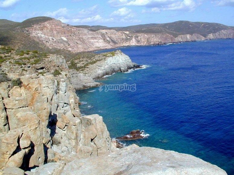 La costa sarda