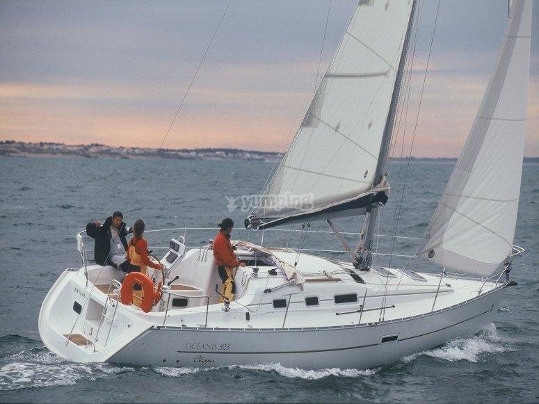 Navigazione a vela in Sardegna