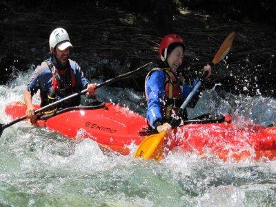 Kayak fluviale (mezza giornata), Controne