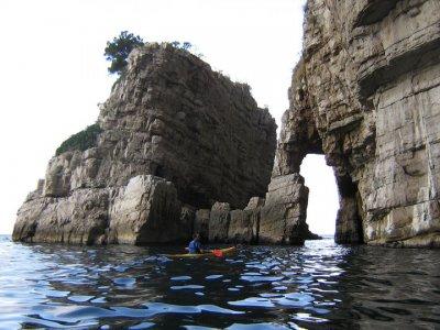 Escursione in kayak 1/2gg nella Terra delle Sirene