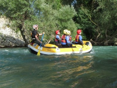 Full day rafting in the Lao River