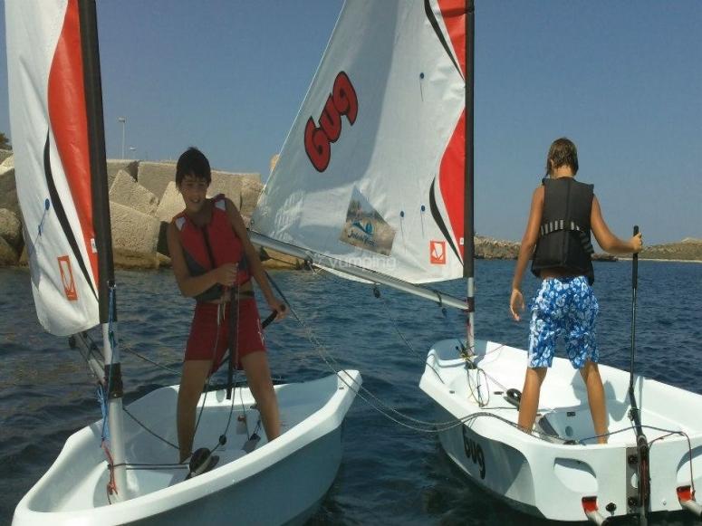 Scuola di vela all'Isola delle Femmine