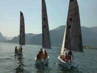 Corso di vela individuale all'Isola delle Femmine