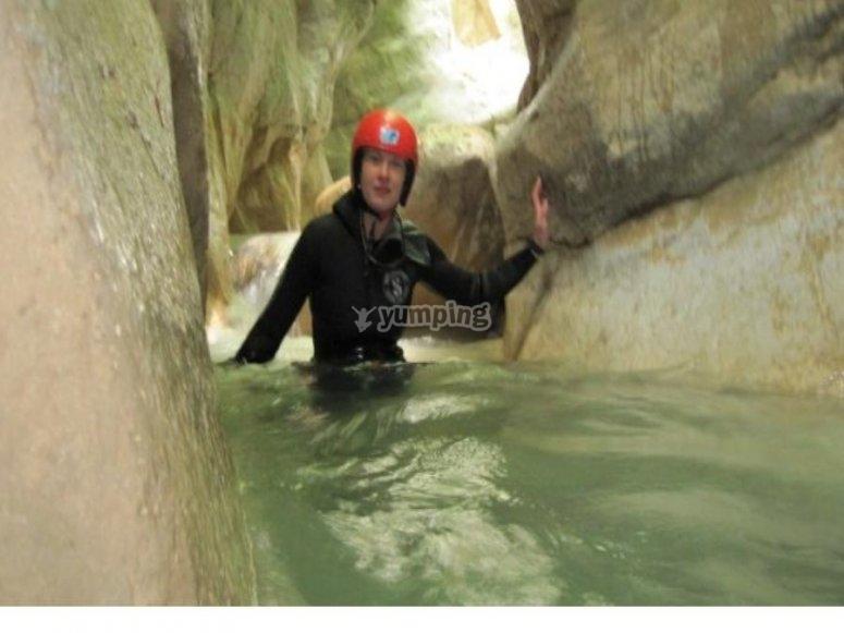 Vieni a fare canyoning