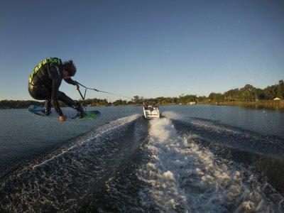 Wakeboard sula lago di Como 15 minuti