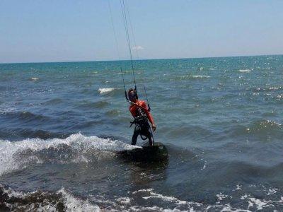 Kitesurf sul Lago di Como di 60 minuti