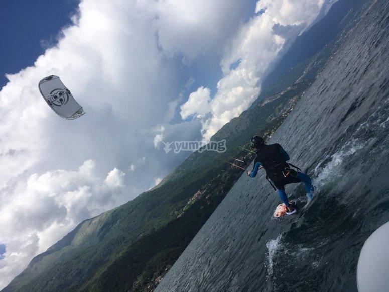 Kitesurf a Dervio