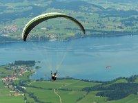 Volo tandem parapendio+video (30min), Lago di Como