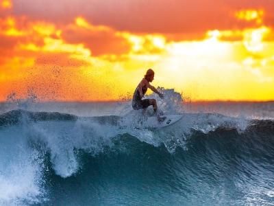 Corso Surf per adulti a Bari (5 giorni)