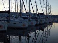 Le barche al porto