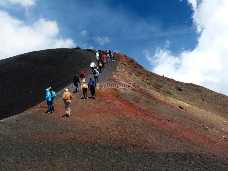 Escursione sull'Etna