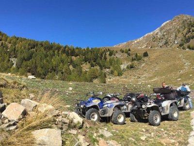 Escursione in quad in Valtellina di 2ore