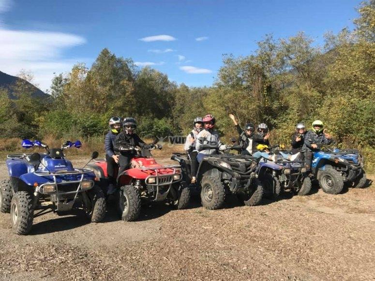 tour in quad di gruppo