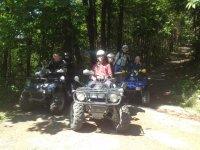 I quad in escursione