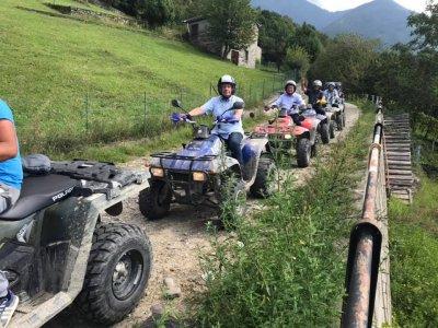 Tour in quad in Valtellina di 1ora e 30