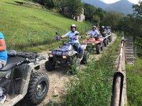escursione di gruppo in quad