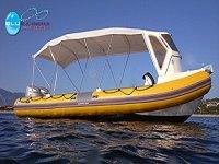Barca di Blu Infinito