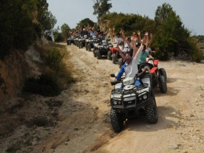 Escursione in quad Ragusa di 30 minuti