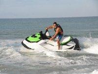 Jet ski in Sicilia