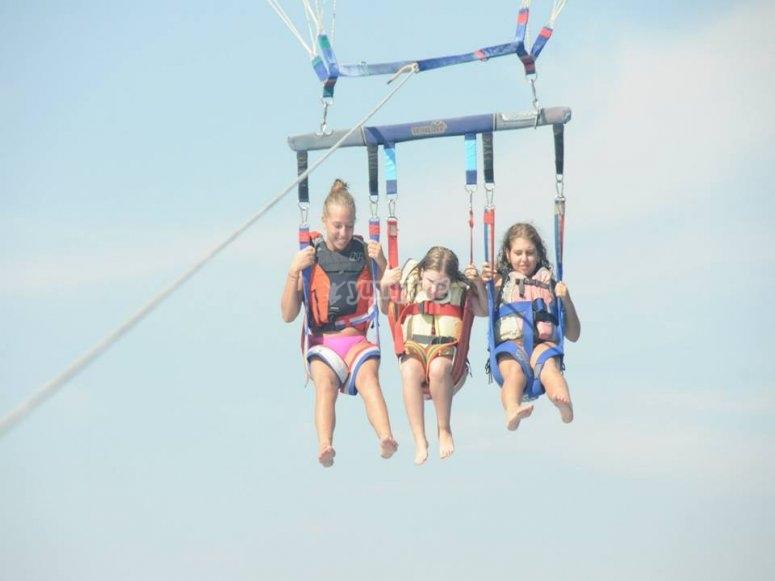 Children in the sky
