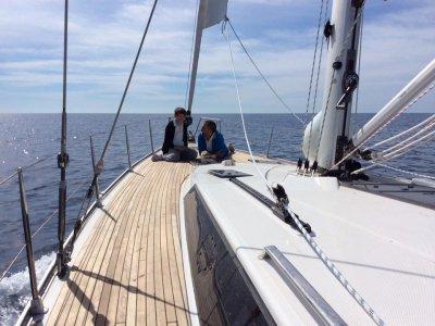 Escursione giornaliera in barca vela da Salerno