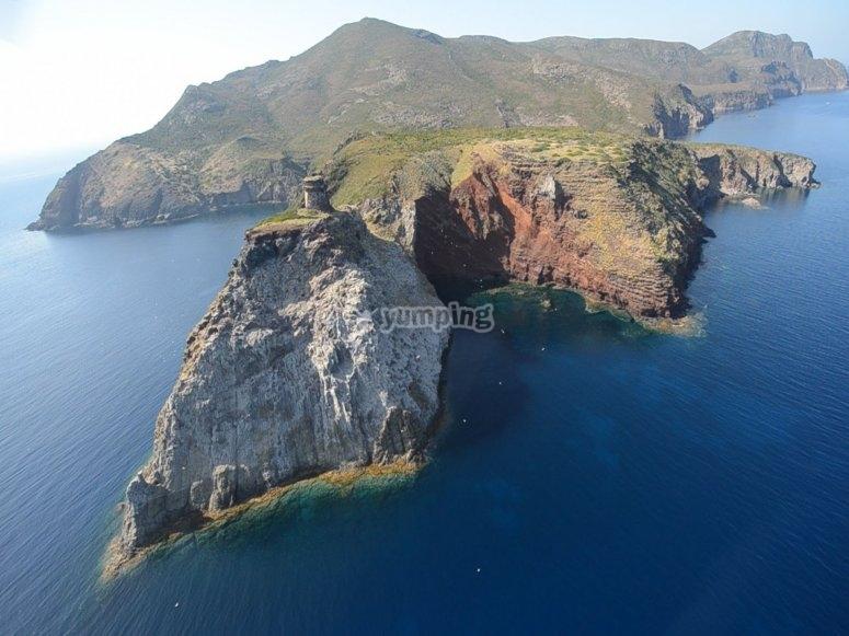 Tour all'Isola d'Elba e Capraia