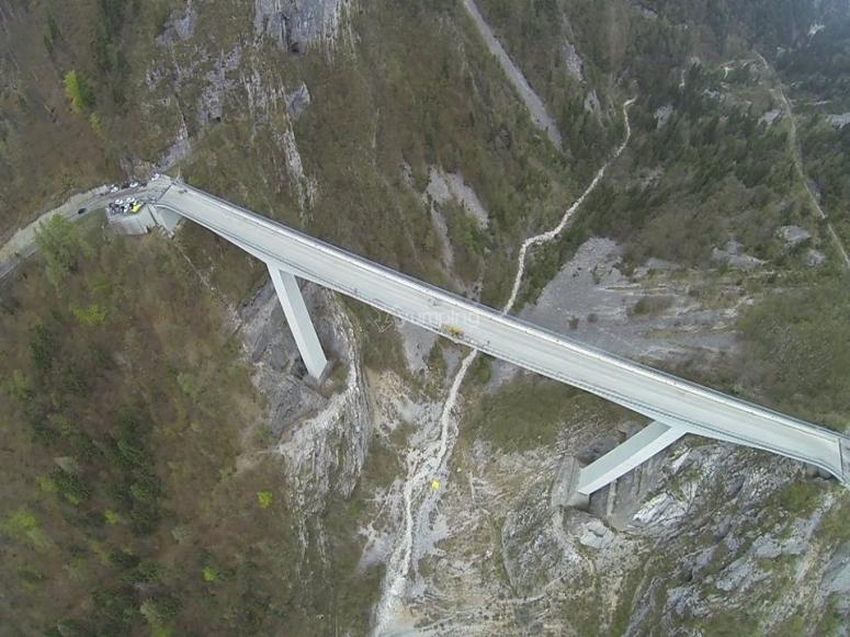 Il ponte in Valgadena