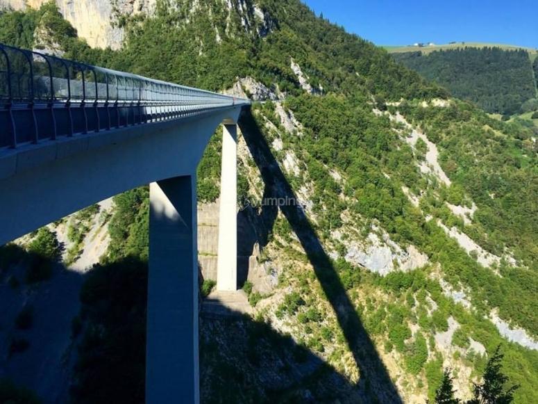 La vista sul ponte